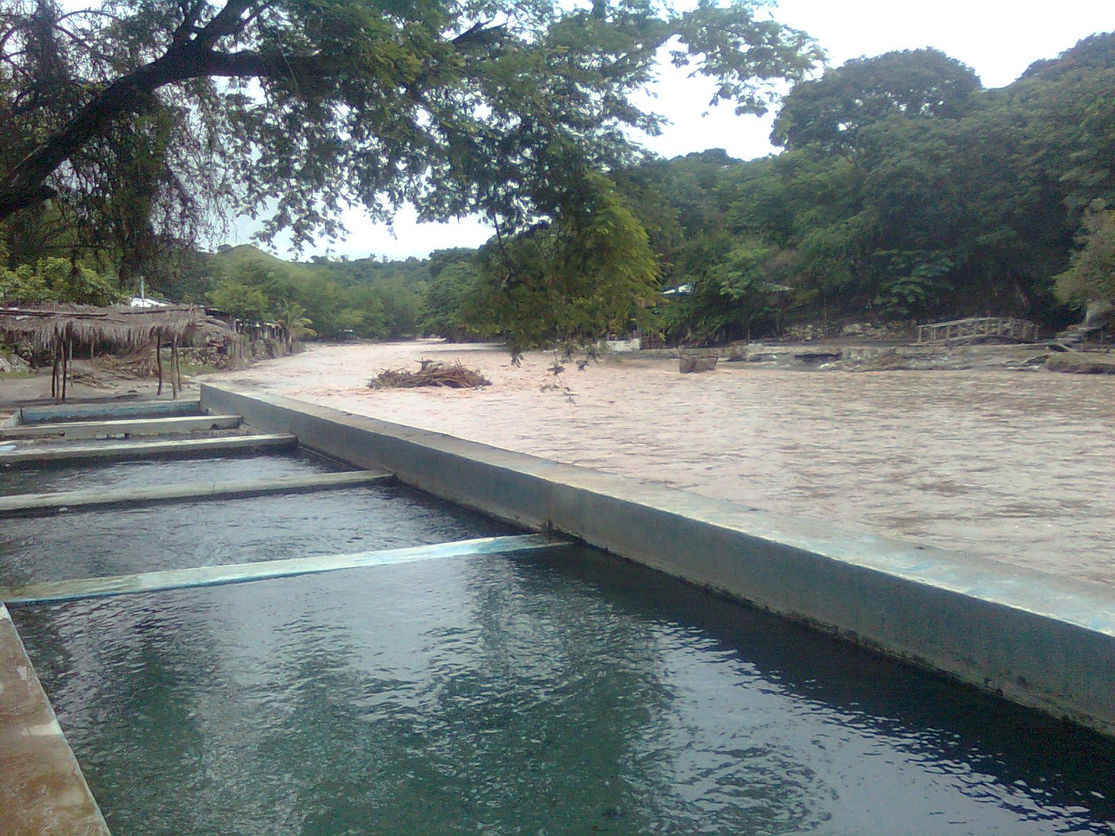 Aguas Termales Banos Del Carmen Carranza Chiapas Pozol