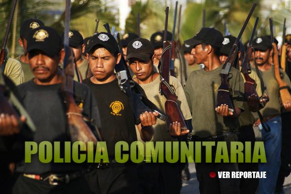 """""""Rechazamos cualquier intento gubernamental para oficializarnos, jamás nos subordinaremos al Estado"""", afirma policía comunitaria de Guerrero."""