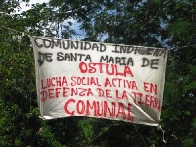 """""""Hay una guerra desatada por los gobiernos y los carteles en contra de los pueblos de México"""", Santa María Ostula"""