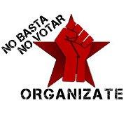 No Basta No Votar, Organízate. Brigada Callejera de Apoyo a la mujer Elisa Martinez.