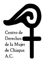 Denuncia del Centro de Derechos de la Mujer de Chiapas
