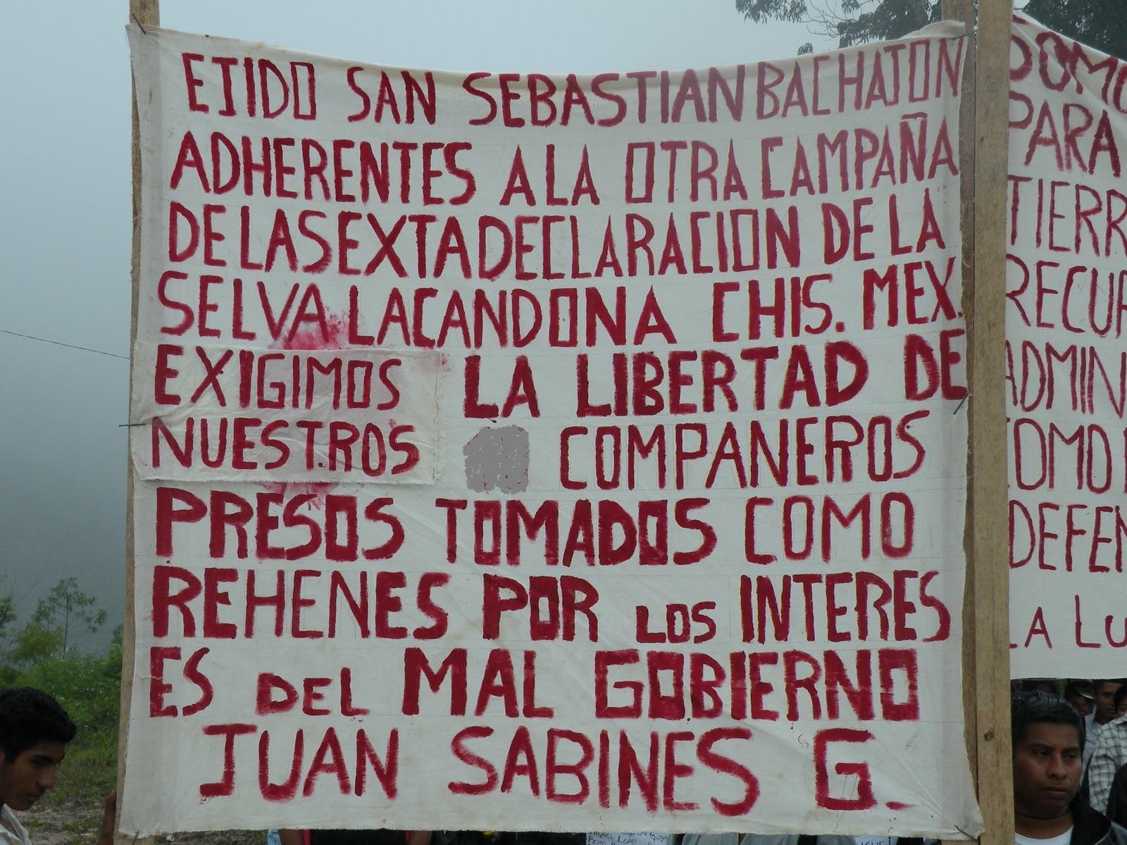 Ejidatarios de San Sebastián Bachajón en Agua Azul Chiapas son desalojados