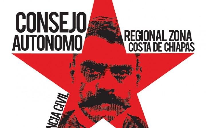 Con marcha-mitin celebra su octavo aniversario el Consejo Autónomo Regional de la Zona Costa de Chiapas