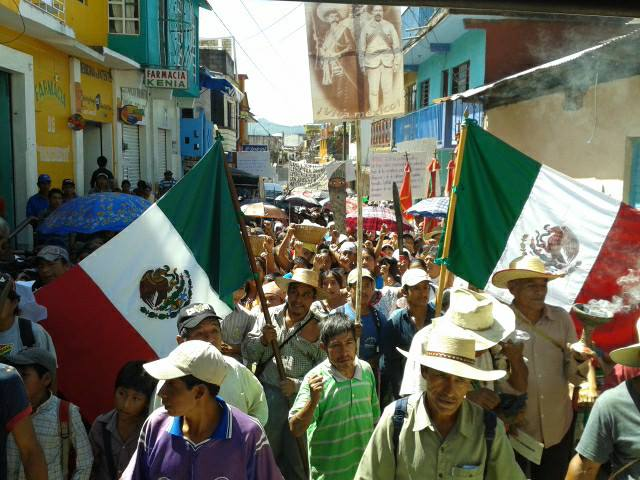 Chiapas: Realizan Marcha por Aniversario 79 del ejido Tila y por la defensa del territorio
