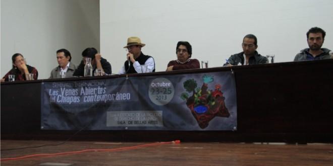 Chiapanecos en defensa del agua denuncian la privatización del agua potable en Tuxtla Gutiérrez.