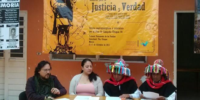 Testificaremos en el Tribunal Permanente de los Pueblos graves violaciones a derechos humanos: Las Abejas