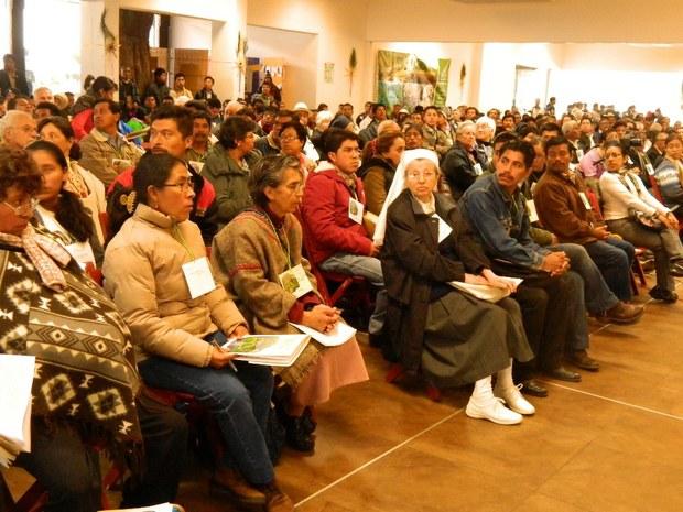 Primer Congreso de la Madre Tierra en San Cristóbal de las Casas, Chiapas.