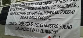 Inicia caravana ¡Galeano Vive!, hacia el Caracol de la Realidad