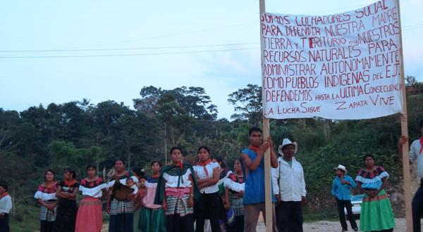 Chiapas: Organizaciones de más de 10 países, se pronuncian contra el encarcelamiento injusto de indígenas del ejido San Sebastián Bachajón