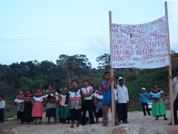 Chiapas: Ejidatarios de San Sebastián Bachajón denuncian al comisariado ejidal Alejandro Moreno Gómez por querer entregar la tierra al mal gobierno