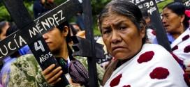 """""""En Chiapas el mal gobierno de Manuel Velasco tiene planeado imponer megaproyectos como las mineras, autopistas y represas"""". Abejas de Acteal."""