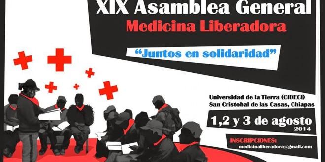 CHIAPAS: Encuentro Internacional sobre la Medicina Liberadora, 1,2 y 3 de agosto, Cideci Unitierra.