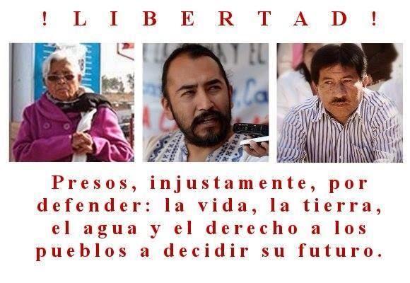 Consejo Autónomo Regional de la Costa de Chiapas, se une a la movilización nacional por la libertad de presos políticos este 8 de julio.