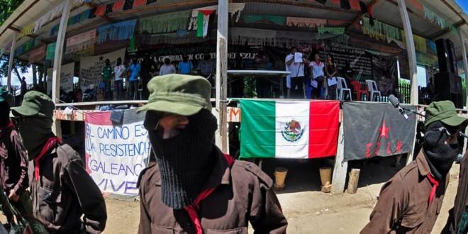 """""""Somos pueblos, somos tribus y somos nación"""",  Congreso Nacional Indígena – EZLN."""