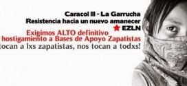 Apoyo internacional a los Pueblos Zapatistas victimas de la guerra de contrainsurgencia