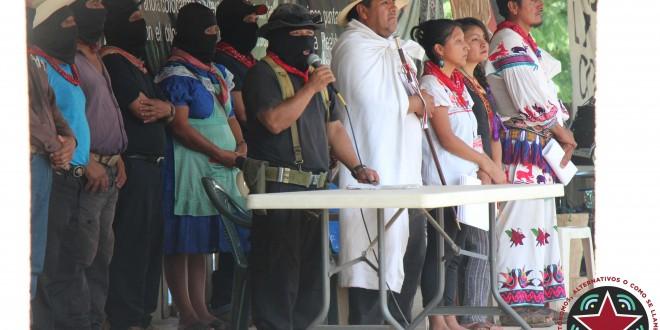 """""""De nuestro dolor nació nuestra rabia, de la rabia nuestra rebeldía, y de la rebeldía nacerá la libertad de los pueblos del mundo"""", CNI-EZLN."""