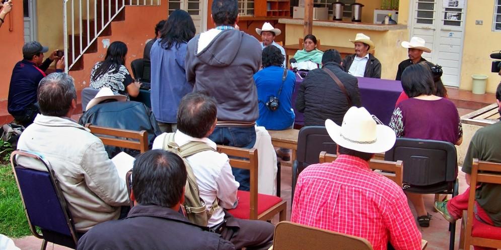 Ejido Candelaria denuncia presión, hostigamientos y amenazas por la construcciòn de la autopista San Cristóbal-Palenque