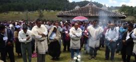 Chiapas: Desde Laguna Suyul indígenas manifestan su rechazo a la Supercarretera San Cristóbal – Palenque.