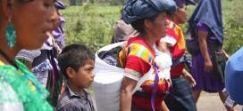 """""""Manifestamos nuestras informidades y a la vez nuestras preocupaciones, ante el saqueo de nuestras tierras"""", denuncian indígenas de Chiapas."""