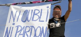 Francia: Rémi Fraisse jóven de 21 años, es asesinado por la policía tras una manifestación  pacífica.