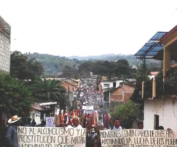 PRIMERA DECLARACION DEL PUEBLO CREYENTE DE LA PARROQUIA SAN ANTONIO DE PADUA, DE SIMOJOVEL CHIAPAS