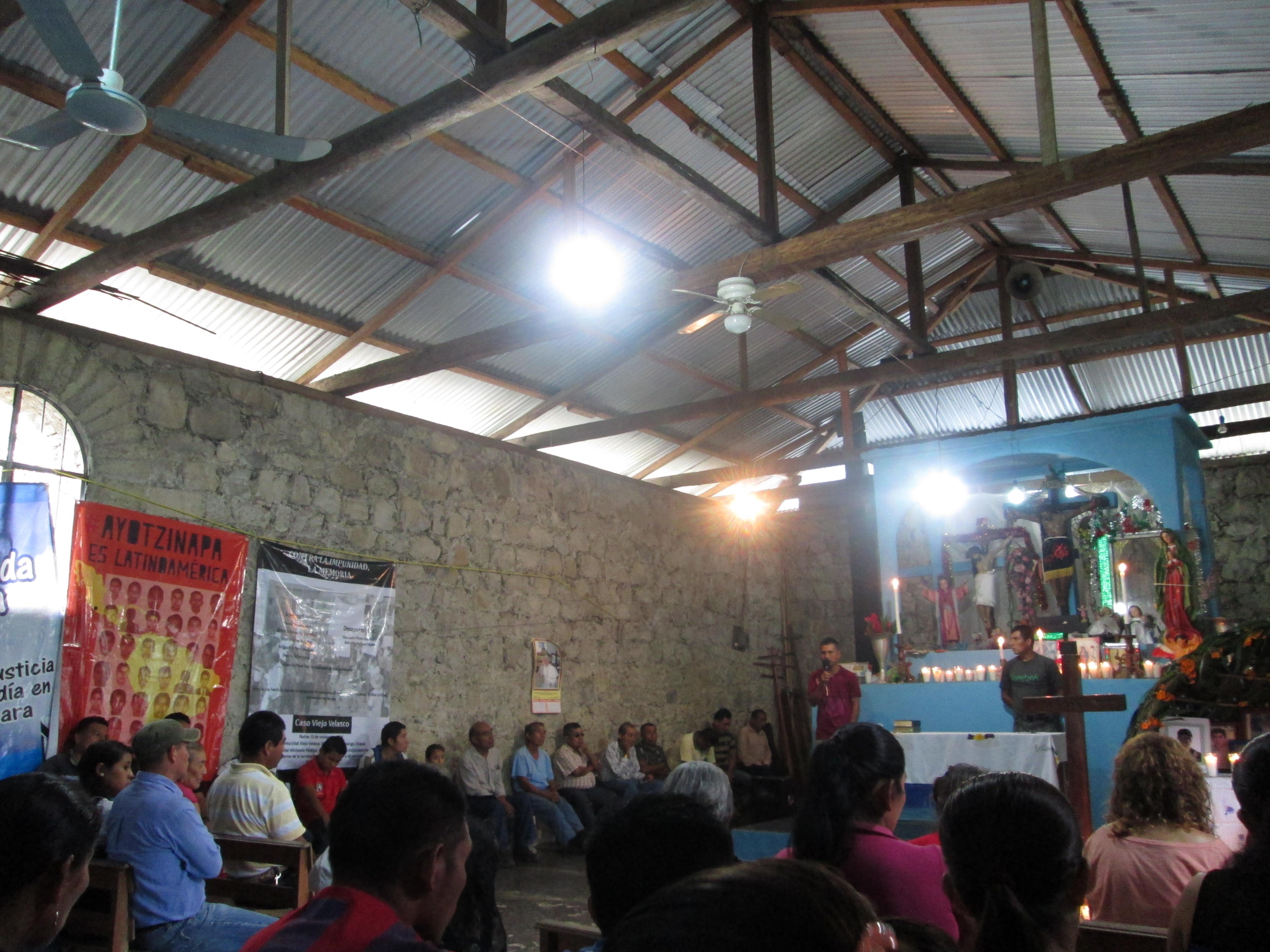 A 18 años de impunidad, en Masojá Shucjá Tila Chiapas, exigen justicia por desapariciones y ejecuciones a sus integrantes.