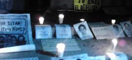 Marcha por los estudiantes desaparecidos de la Normal de Ayotzinapa, en Tuxtla Gutiérrez.