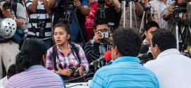 """""""Que llegue hasta los últimos rincones del mundo, la inconformidad de cómo el procurador viene a informar a la sociedad mexicana"""", padres de Ayotzinapa."""