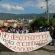 """""""Estamos en contra de los actos cobardes que ejecuta el gobierno mexicano"""", estudiantes normalistas y universitarios de Tuxtla Gutiérrez."""