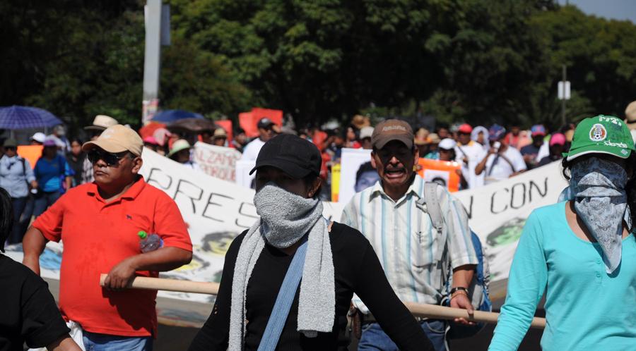 "Oaxaca recibe a la caravana ""Daniel Solís Gallardo"""