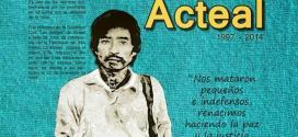 Chiapas: Invitación al 17 aniversario de Acteal