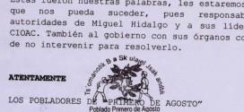 Amenazas de Desplazamiento y agresiones a familia tojolabales simpatizantes del EZLN, por parte de CIOAC-H.