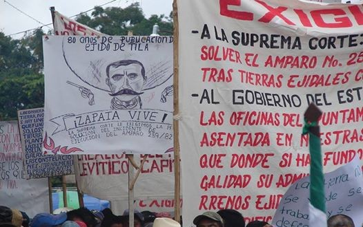 """""""Usurpación de la Asamblea ejidal y Autoridades, por el mal gobierno y su grupo de caciques"""", denuncia el ejido Tila"""
