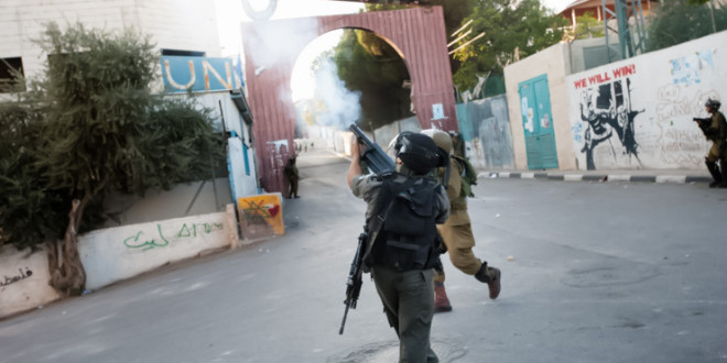 Crónica de un operativo militar israelí en el campo de refugiados de Aida, Belen