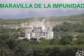 Alertan que clausura temporal de empresa calera, en el Cañón del Sumidero, vence este mes de marzo.