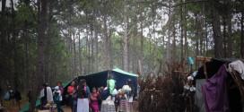 """""""Hoy cumplimos 30 días desplazados, viviendo bajo los árboles, cubiertos por un pedazo de plástico"""", indígenas tojolabales"""
