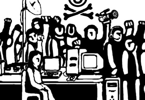 Ataque y robo a medios libres por grupos oficialistas en Agua Azul, ejido de San Sebastián Bachajón