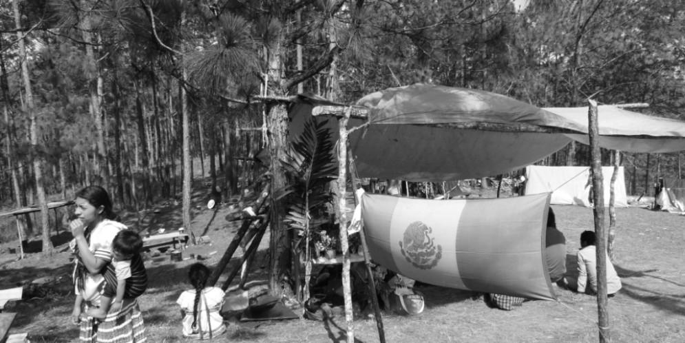 """""""Los de la Cioac-h nos lo llevaron todo, lo han robado todo y lo que no les sirve, lo han quemado"""", indígenas desplazados."""