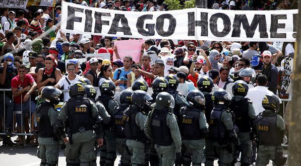 Convocatoria de apoyo a lxs 23 perseguidxs políticos, tras mundial de Brasil