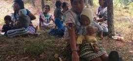 """"""" Misión Civil de Observación de Derechos Humanos a campamento de personas desplazadas forzadamente del Poblado Primero de Agosto, Municipio de Las Margaritas""""."""
