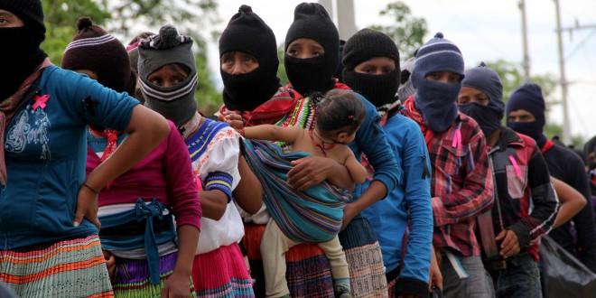 """""""Peña Nieto y Velasco Coello, funcionarios de gobierno involucrados en la política de contrainsurgencia en Chiapas"""", Frayba."""