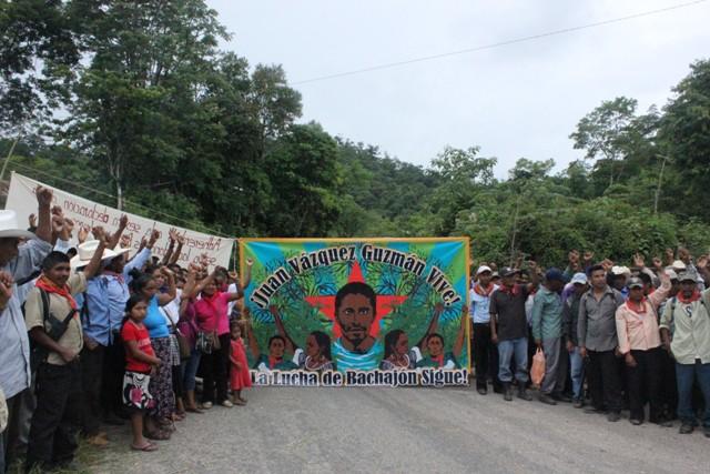 Ejido Bachajón denuncia la muerte de uno de sus integrantes por culpa del hostigamiento policíaco.
