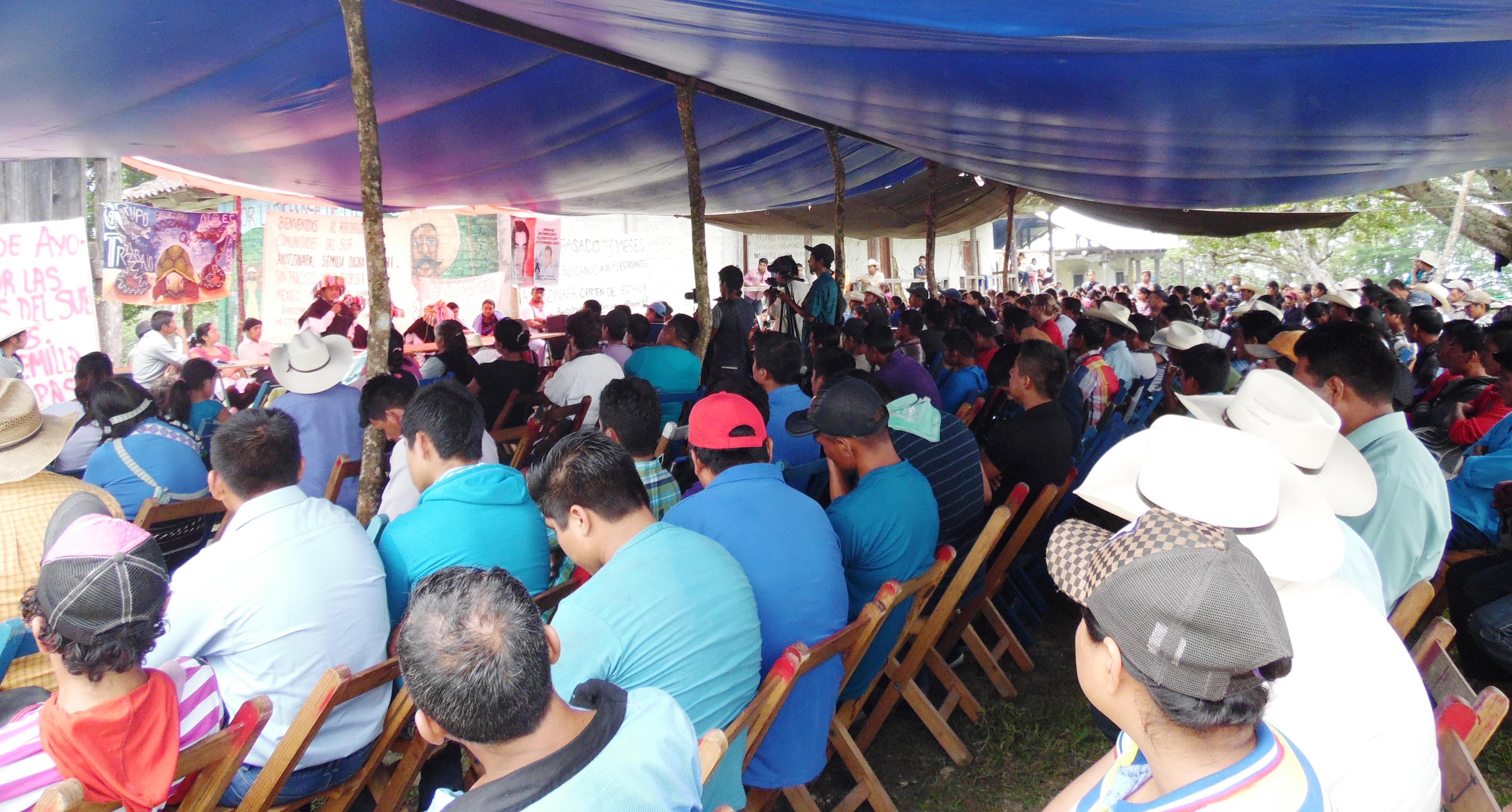 Desde la zona Norte, Altos y centro de Chiapas, se solidarizan con Ostula Michoacán, Xochicuautla Edomex Y EL EZLN