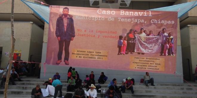 """""""El gobierno de Chiapas mostró falta de voluntad para atender nuestra situación"""", denuncian indígenas desplazados."""