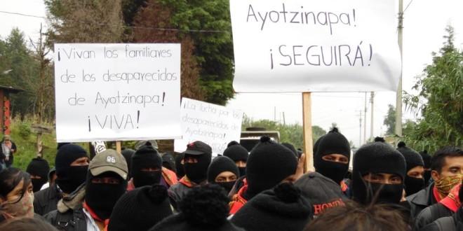 """CNI-CIG MEXICO: """"Reconstruir y sembrar la vida es la tarea urgente"""", Ayotzinapa 4 años"""