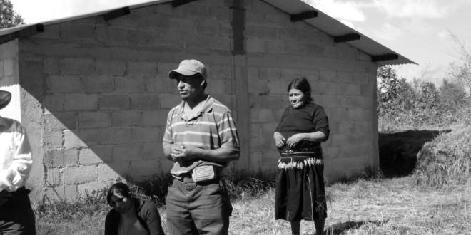 """""""Nuestras exigencias al Estado mexicano: VERDAD, JUSTICIA, RETORNO Y PAZ"""", tzeltales desplazados de Banavil Chiapas."""