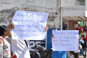 MARCHA CNTE CHIAPAS - POZOL