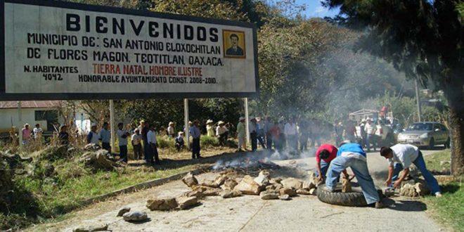 México: Exigen la libertad de Miguel Peralta y de once presos de Eloxochitlan, Oaxaca.