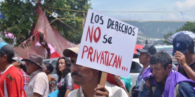 Chiapas: Diputados preparan Ley de Aguas, al margen de la ciudadanía