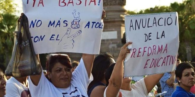 """México: """"Nada concreto"""", en negociaciones de la CNTE y Segob."""
